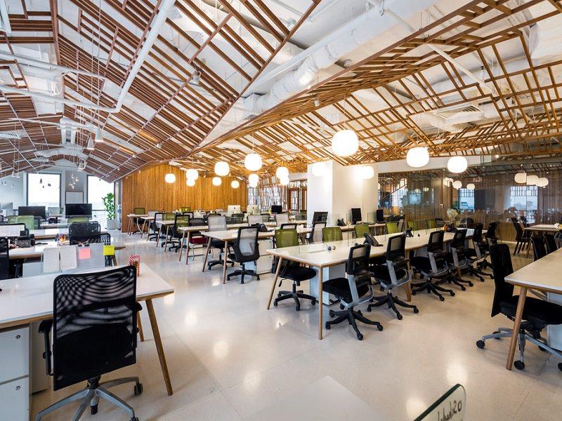 Không gian nội thất văn phòng