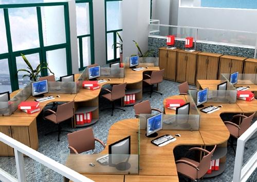 Cách bài trí nội thất văn phòng