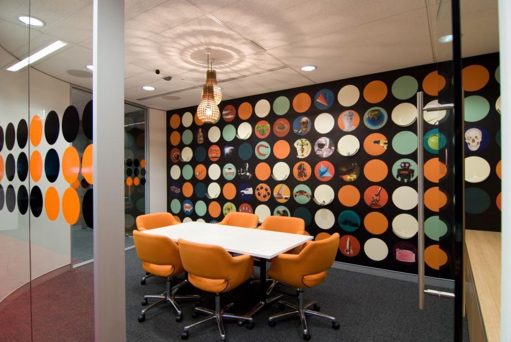 thiết kế không gian phòng họp